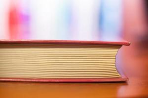livre rouge, macro photo