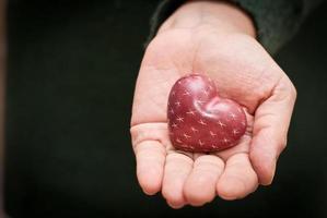 cuore in mano photo