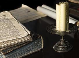 étude médiévale photo