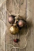 ornements d'arbre de Noël photo