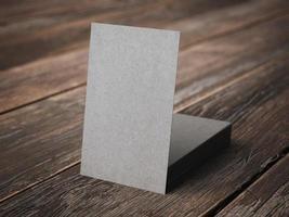cartes de visite en papier kraft