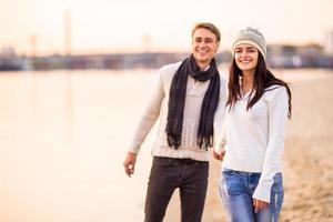 couple amoureux sur une date photo