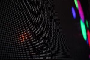 diodes électroluminescentes rouge vert bleu. photo