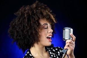 chanteur de jazz photo