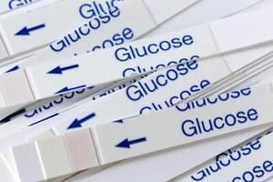 bandelettes indicatrices pour les tests de glycémie photo