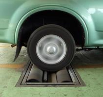 système d'essai de freinage de voiture photo
