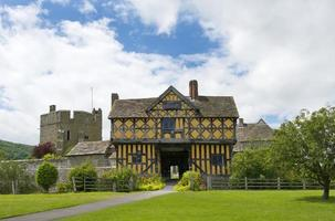 stokesay manor gate house photo