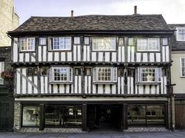 Maison à colombages à Cambridge, Angleterre photo