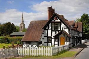 village de Worcestershire