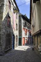 bâtiments à pans de bois médiévaux photo