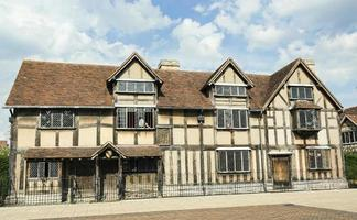 lieu de naissance de William Shakespeare. photo