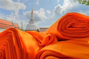hae pha khuen ce tissu de robe de festival photo