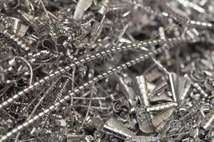 copeaux de recyclage
