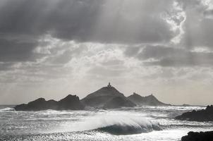 tempête aux îles sanguinaires photo