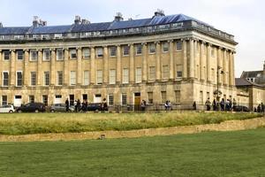 croissant royal, Bath, Angleterre photo