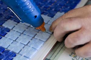 fabrication de carreaux de mosaïque