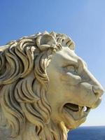 sculpteur de lion medici, palais vorontsov photo
