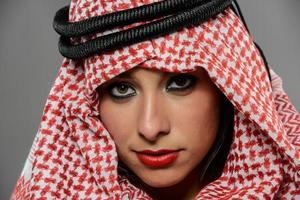 yeux du Moyen-Orient