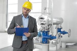 ingénieurs industriels sur site photo