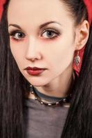 fille gothique - (série) photo