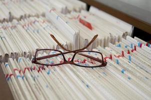 lunettes sur fichiers photo