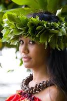 fille hawaïenne