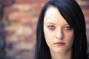 portrait, rebelle, adolescent, girl photo