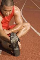 athlète masculin photo
