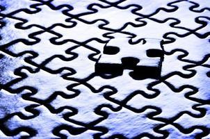 liens d'un puzzle photo