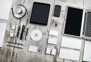 modèle d'affaires maquette photo