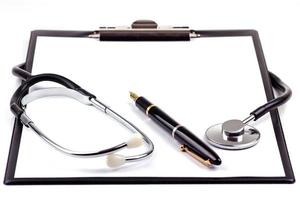 notes médicales photo