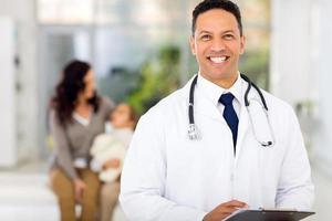 portrait de docteur en médecine photo