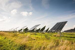 énergie alternative avec photovoltaïque photo
