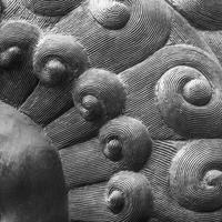 modèle abstrait en métal