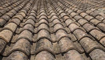 modèle de tuile de toit photo