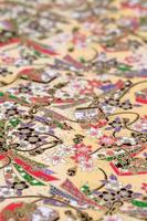 papier à motif japonais traditionnel photo