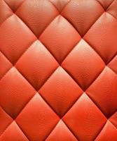 fond de cuir d'ameublement rouge photo