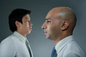 concept d'entreprise multiraciale photo