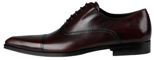 chaussures pour hommes marron avec lacet