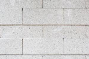 mur de briques blanches. modèle sans couture. photo