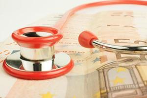 euros soins de santé photo
