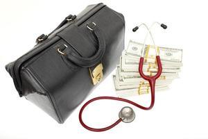 le coût élevé des soins de santé photo
