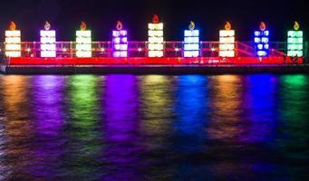 lumières de hanukkah 2013 photo