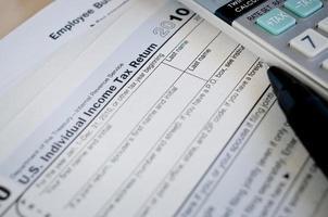 formulaire d'impôt