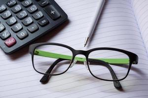 concept de comptabilité photo