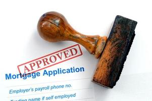 demande d'hypothèque - approuvée photo