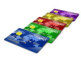 cartes de crédit photo
