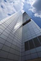 bâtiments d'entreprise en perspective photo