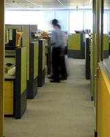 entreprise - bureau ennuyeux tourné photo