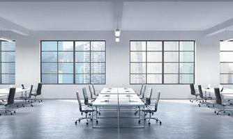 salle de conférence ou lieux de travail d'entreprise photo